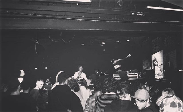 Benaddict & Tom Yum mid-set at Holdin' Court.  #rdguk you did yourself proud. Shout to everyone who made it out to the show.  #benaddict #tomyum #holdincourt #hiphop #ukhh #rap #dj #crowd #reading #readipop #event
