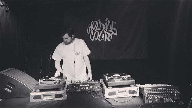 We are live right now in the basement of @ryansn16 #stokenewington Join us! #hiphop #ukhh #rap #dj #holdincourt