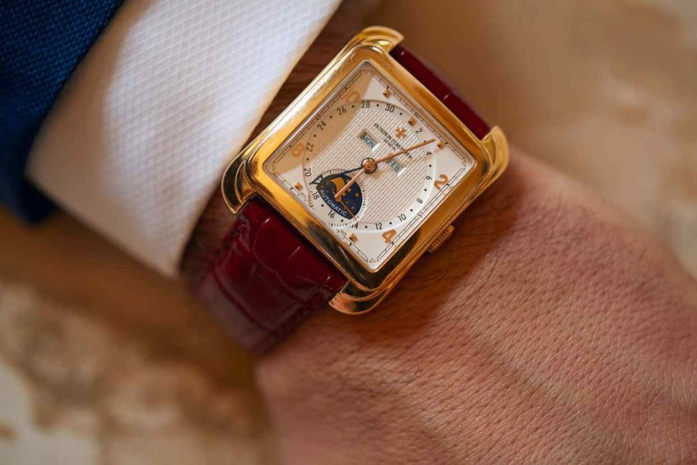Sultana's Vacheron Constantin Toledo watch | Image: Chris Floyd