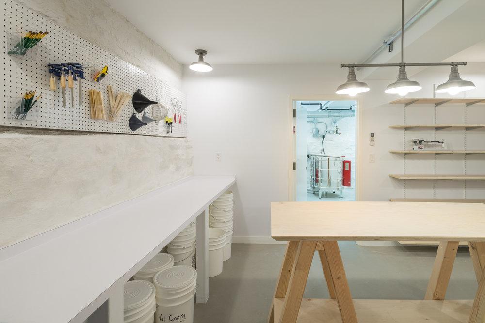Glaze Room/Kiln Room