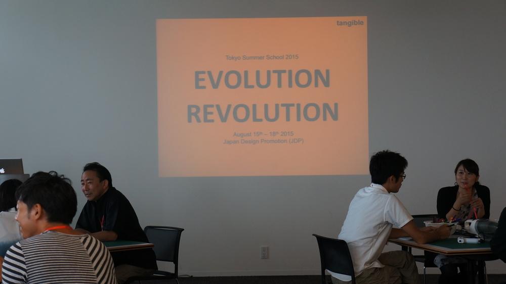 Evolution-Revolution Workshops