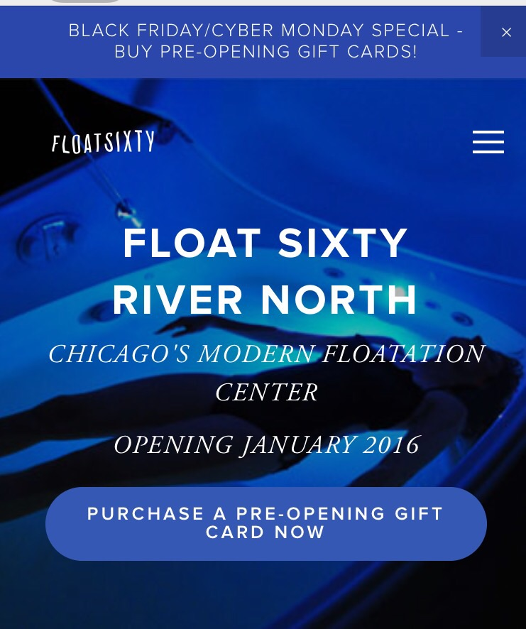 Visit our website at www.floatsixty.com!