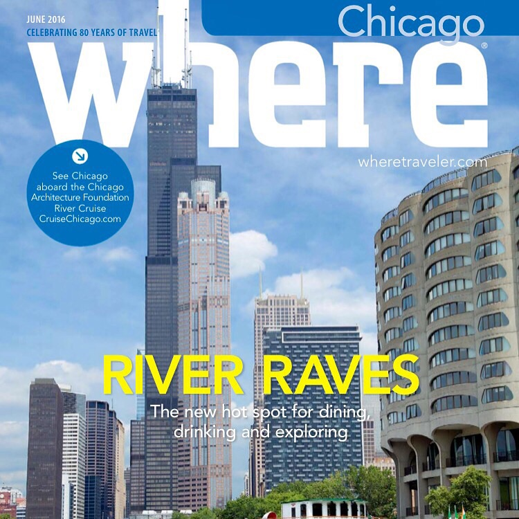 Cover of Where Chicago June Issue