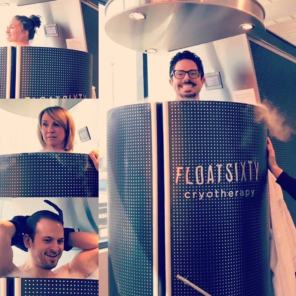 CRYOTHERAPY - Whole Body and Local Cryotherapy reduces inflammation, expedites muscle recovery and reenergizes your body in just 2-3 minutes. Now available at Float Sixty Northwest Indiana! Book Now.