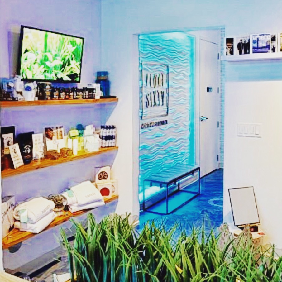 FLOAT SIXTY3D TOUR - CLICK THE IMAGE FOR A 3D TOUR OF OUR MODERN FLOAT & CRYOTHERAPY STUDIO IN NORTHWEST INDIANA