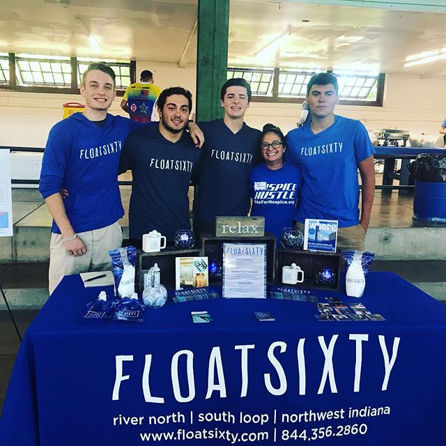 Our crew today working for a cause!  @floatsixtynorthwestindiana supports @hospicecalumet and the #hospicehustle2018 and these amazing young men from @lakecentralschool serving their community as volunteers! Thank you for spending the day with us supporting the 🚴‍♂️ cyclists who rode 💯, 50 or 25 miles for charity! #hospicehustle #hospicecalumet #hospiceofthecalumetarea #cherishinglife #hospicecare #theregion #crownpoint #munster #saintjohn #nwi #northwestindiana