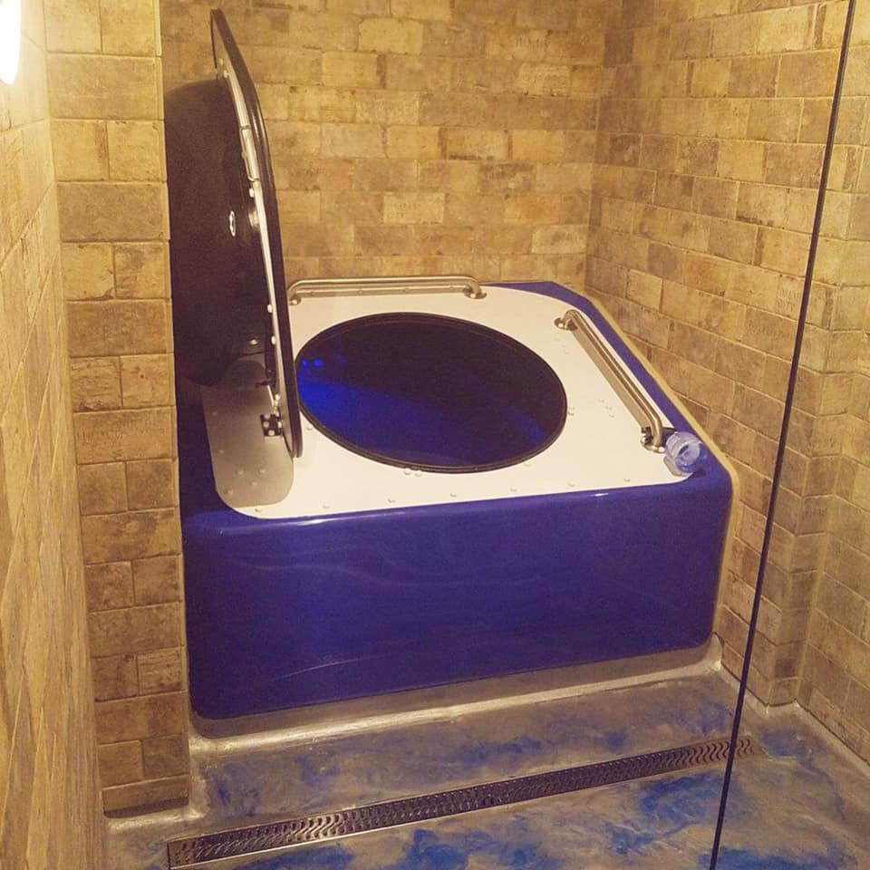 Suite 1: Aphelion Float Tank - Futuristic and spacious - one of the most intense float environments for sensory deprivation we offer. Optional low light controlled by user. huge float area. Available for sixty or ninety minute float sessions.Select Suite One:Aphelion in our Online Scheduler!!