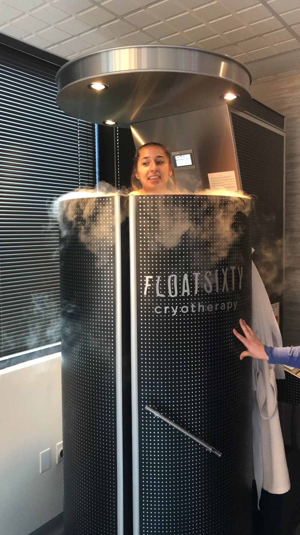 WHOLE BODY & LOCALIZED CRYOTHERAPY - ONLY AVAILABLE AT FLOAT SIXTY NORTHWEST INDIANA$40 FOR FIRST TIME CRYOTHERAPY SESSIONS. 2-3 MINUTES FOR WHOLE BODY AND 10-16 MINUTES FOR LOCALIZED CRYO TREATMENT ON SPECIFIC AREA OF THE BODY$65 REGULAR PRICE$35-$40 PER SESSION WITH A MEMBERSHIP, PACKAGE OR COMMUNITY PROGRAM CODESPECIAL PROGRAMS FOR VETERANS, FIRST RESPONDERS & STUDENTSVisit our Float Sixty Northwest Indiana store.
