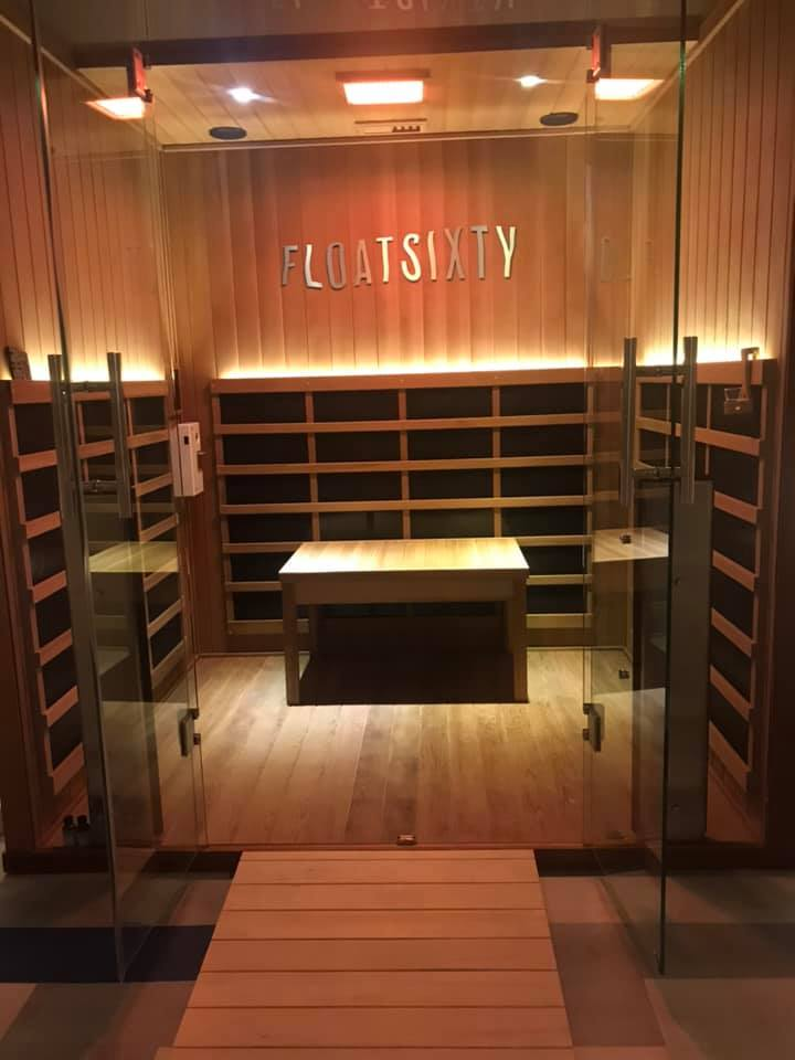 INFRARED SAUNA WITH OPTIONAL HALOTHERAPY - ONLY AVAILABLE AT FLOAT SIXTY SOUTH LOOP$45 REGULAR PRICE.0 $22.50 FOR 1871 MEMBERSMICROSALT FOR HALOTHERAPY OPTION FOR EXTRA FEE$25-$30 PER SESSION WITH A MEMBERSHIP, PACKAGE OR COMMUNITY PROGRAM CODE.Visit our Float Sixty South Loop Store