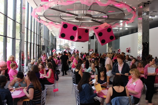KBAYs Pinkalicious Bunco Party The Glass House in San Jose CC