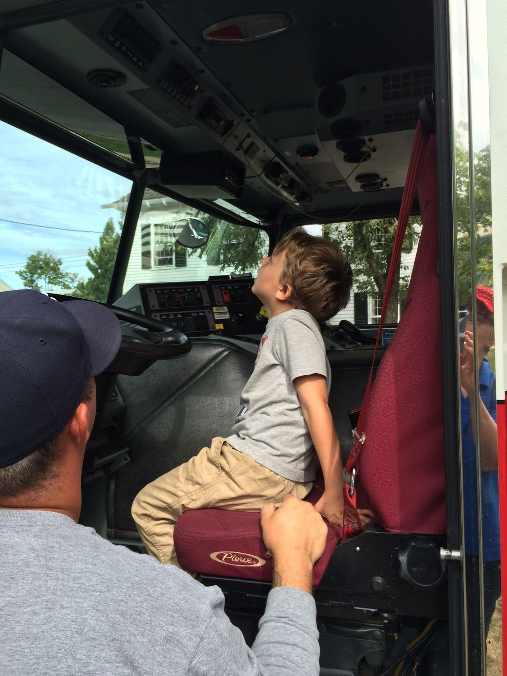 Checking out the firetruck.jpg