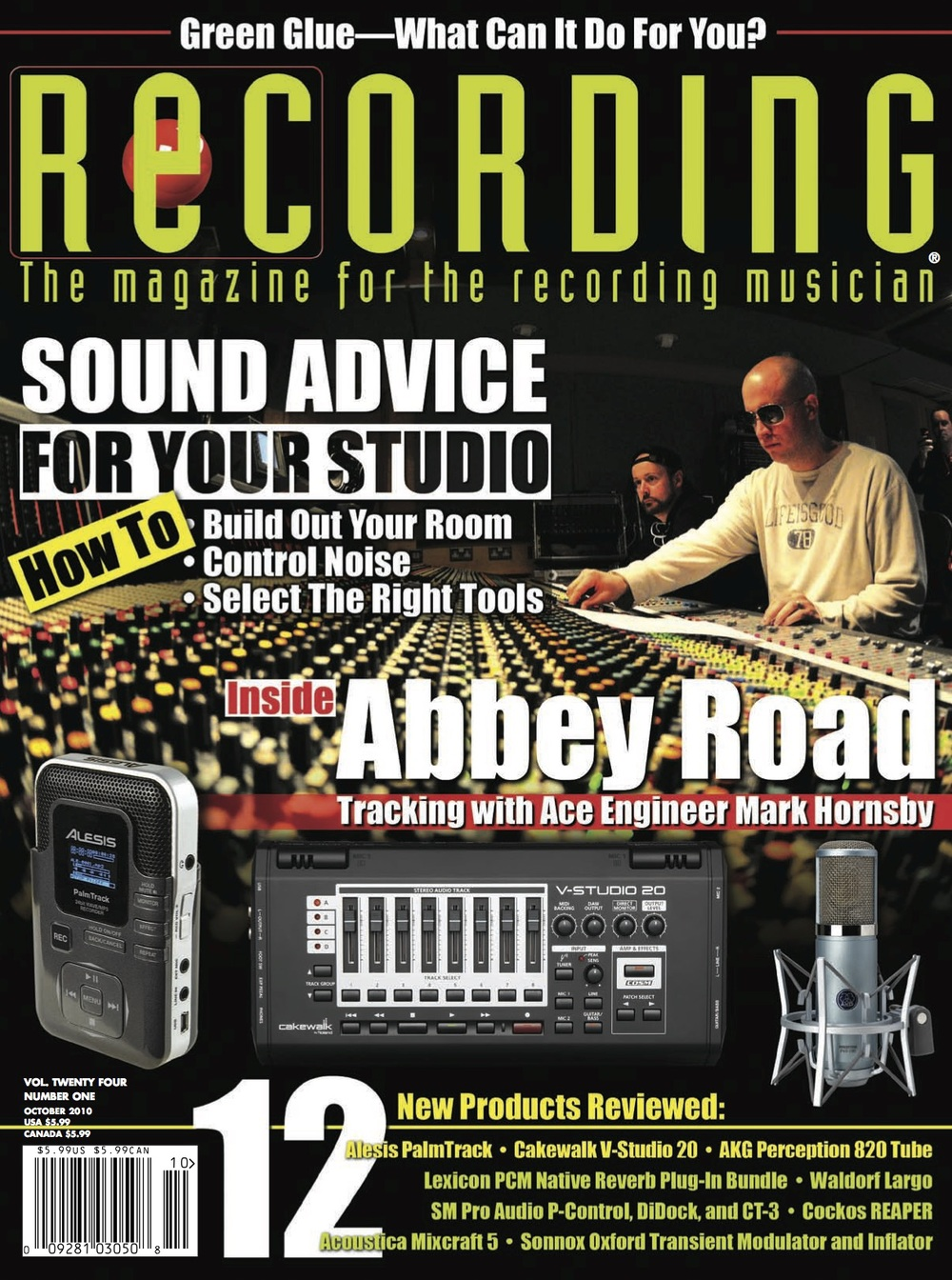 Recording Magazine October 2010