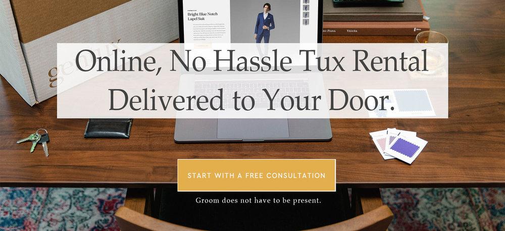 Ellen's Online Tux Rental - Free Consultation