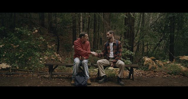 Noah and Patrick meet while on Devil's Path. . . . . . 🎥 by @stephen.tringali #devilspath #devilspathmovie #stephentwardokus @jdscalzo