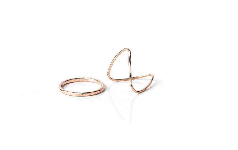 I don't know many gals who don't love a few new stacking rings, and these are so simple and affordable to slip into a bridesmaid's goodie box! Also,the ring's makers target their employment intentionally to women in need through jewelry which is made locally in Nashville, and globally through textiles and leather goods which are made in Ethiopia. Win, win for these minimal gems!