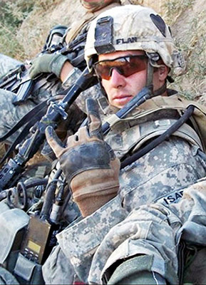 U.S. Army Staff Sergeant Sean M. Flannery, 29, of Wyomissing, Pennsylvania, assigned to the 2nd Battalion, 502nd Infantry Regiment, 2nd Brigade Combat Team, 101st Airborne Division (Air Assault), based in Fort Campbell, Kentucky, was killed on November 22, 2010, in Kandahar province, Afghanistan, when insurgents attacked his unit with an improvised explosive device. He is survived by his fiancee Christina Martin, mother Charlene Flannery, and brothers Sergeant Brian Flannery and Devin Flannery.  Workout, Picture, and Description brought to you by crossfit.com