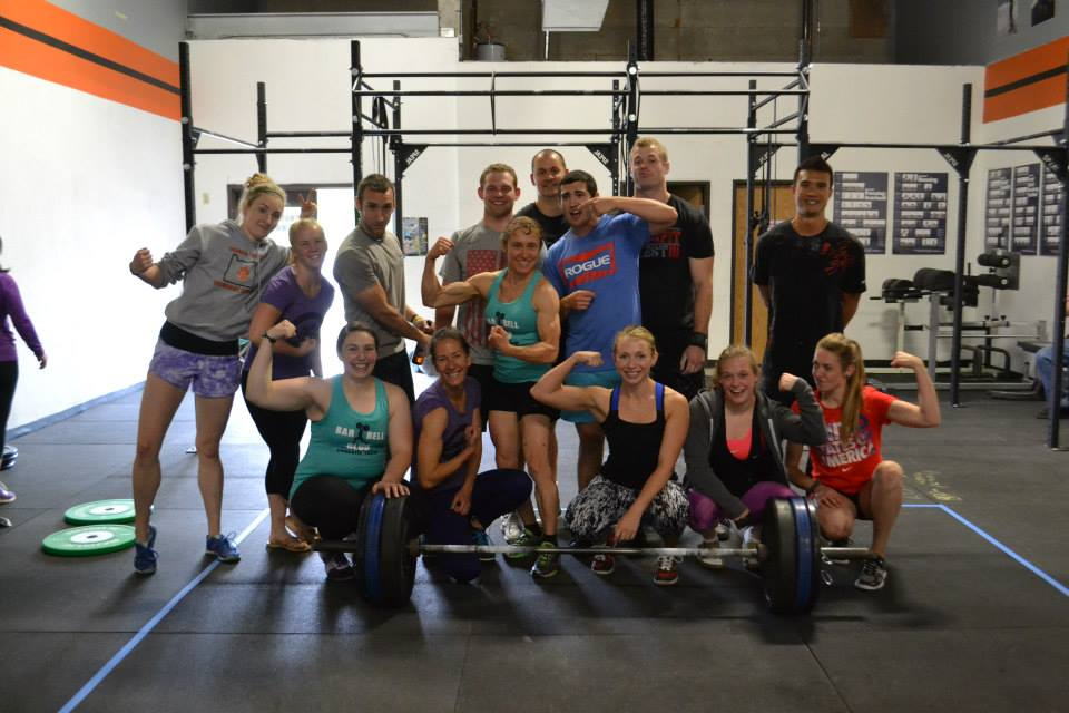 All the participants of last years Olympic lifting meet, looks like they had fun!!!