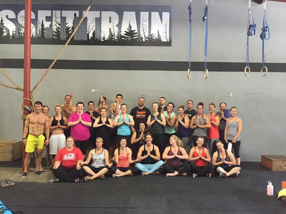 The whole Yoga crew!