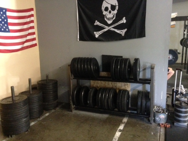 The Weights, Pirates, and America all where they belong. So beautiful!!!