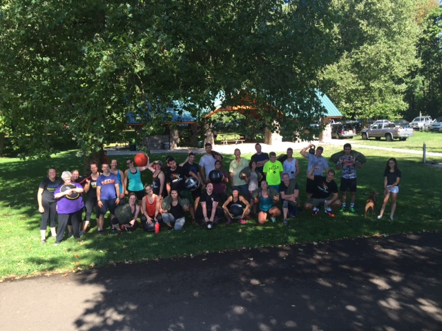 The whole Park WOD crew!