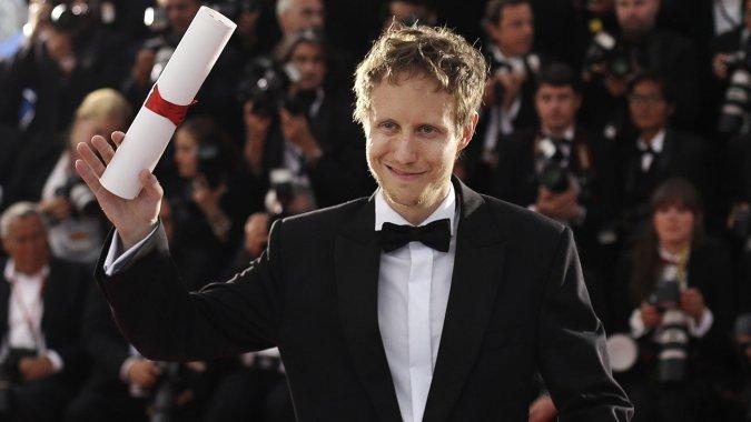 Laszlo Nemes with Cannes Grand Prix