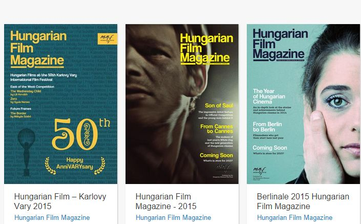 Hungarian film magazine issues