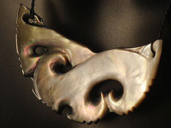 35. Rei moana (ocean) silver lipped pearl shell  $300.00