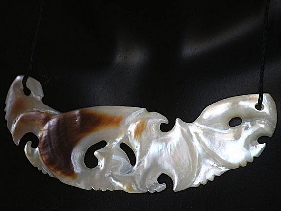1. Rei moana (ocean) silver lipped pearl shell $400.00