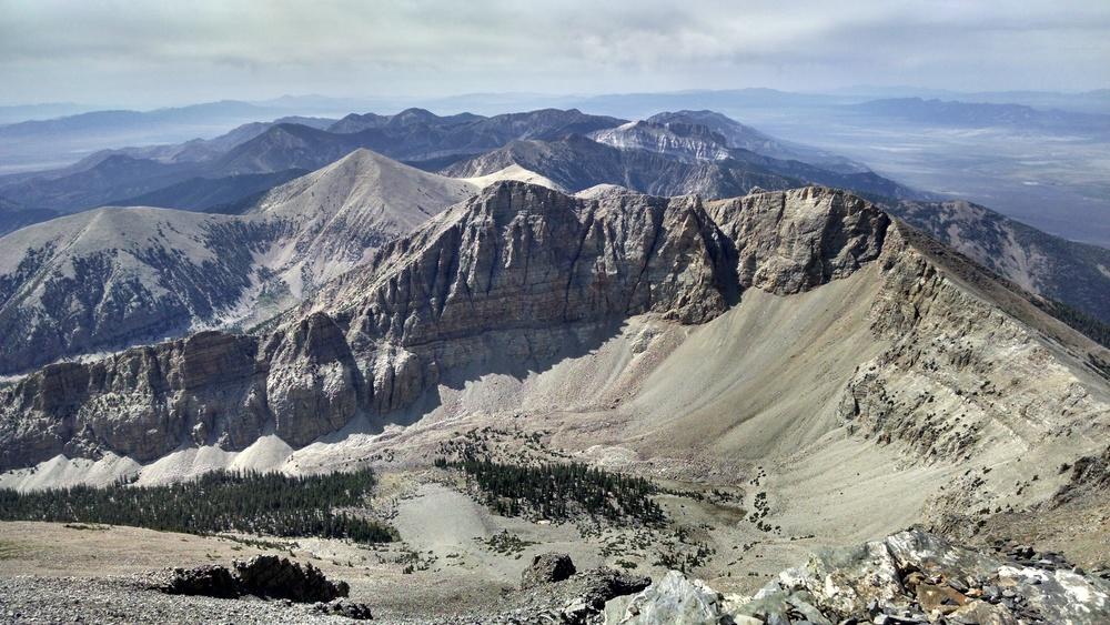 Wheeler Peak Summit View South