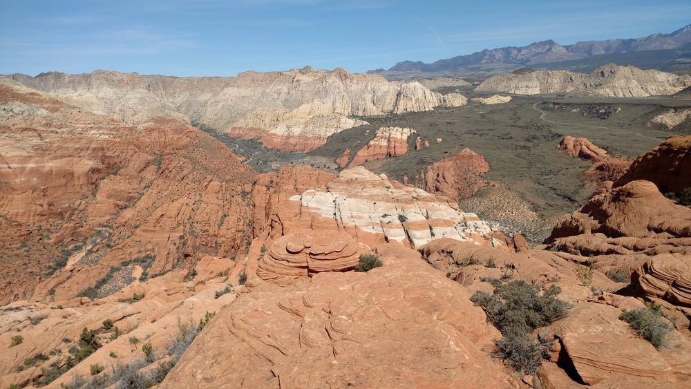 Summit view north
