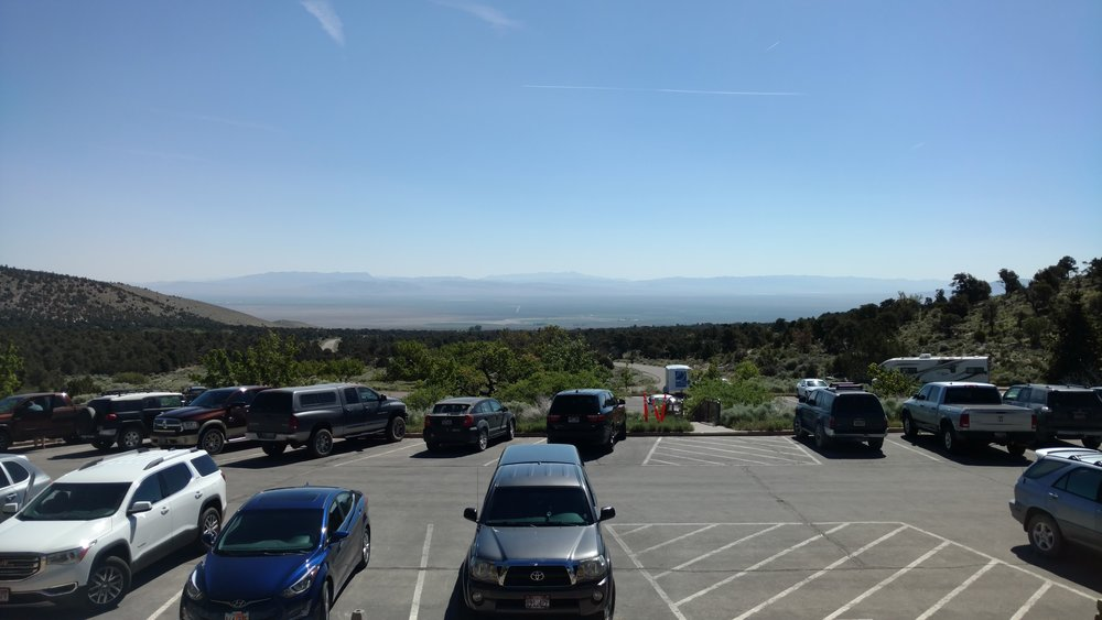 View from Lehman Caves Visitor Center