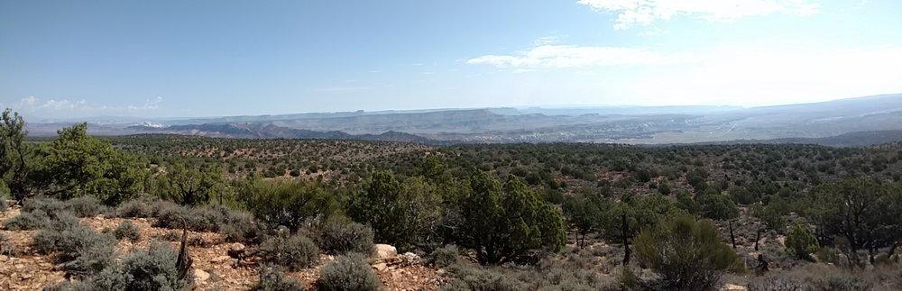 Ridge view looking north northeast