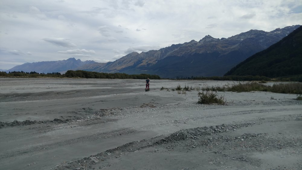 Rock Hounding in Rees River