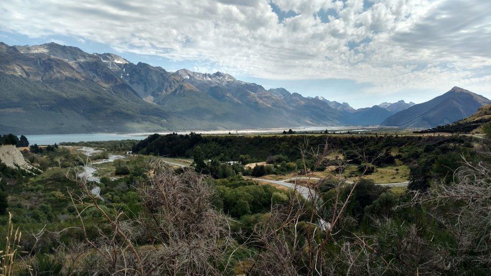 Views along Lake Wakatipu