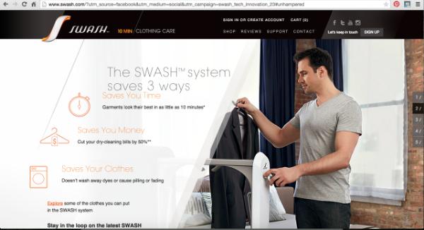 SWASH Website - Numbered Scrolling 2