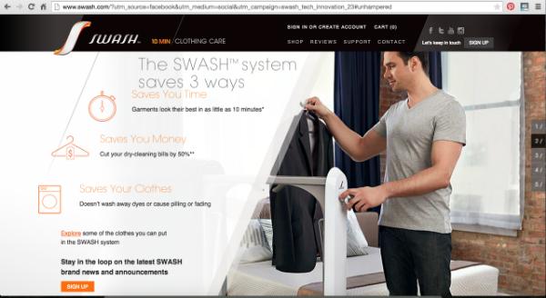 SWASH Website - Manual Scrolling 2
