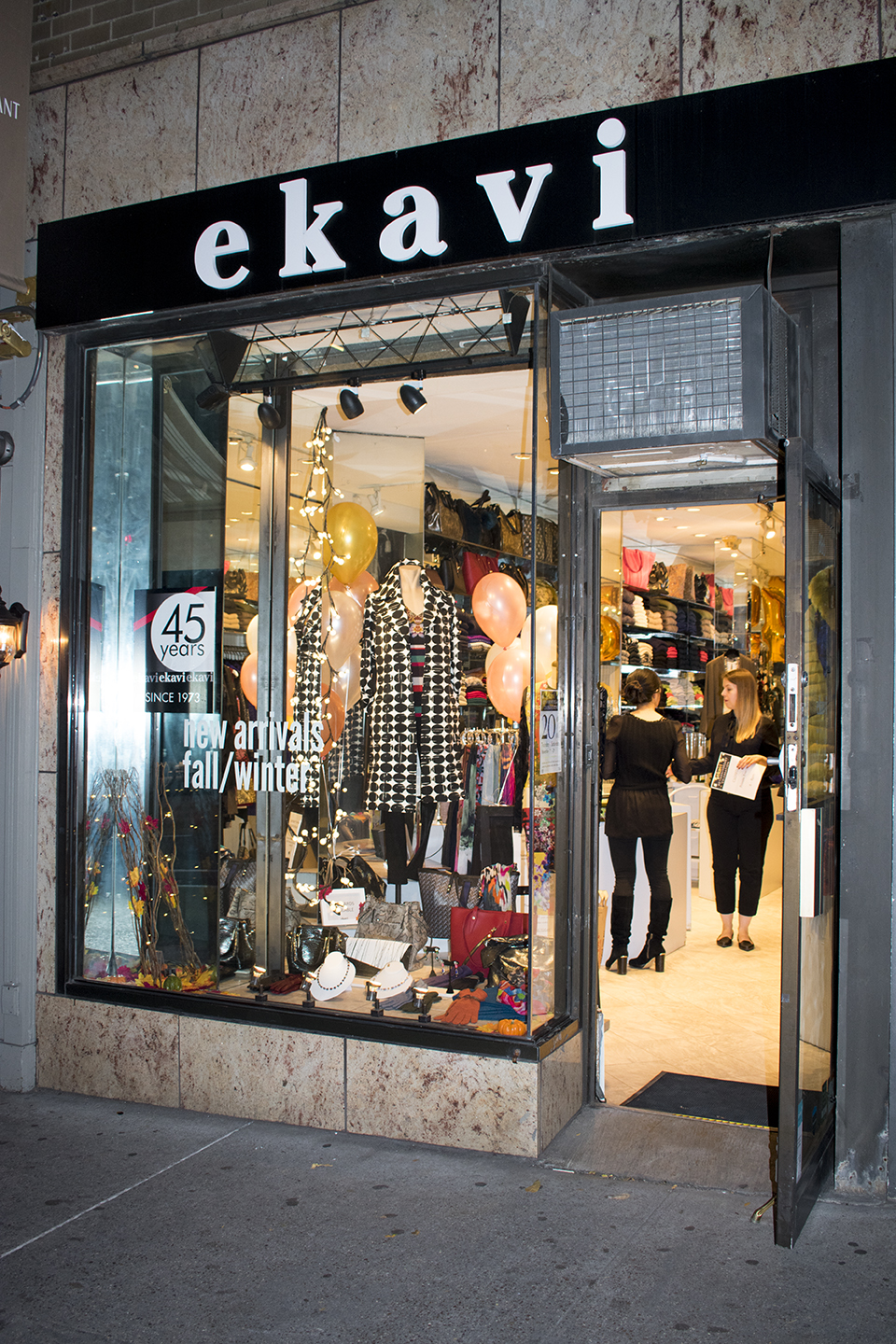 Meeri's boutique in Manhattan