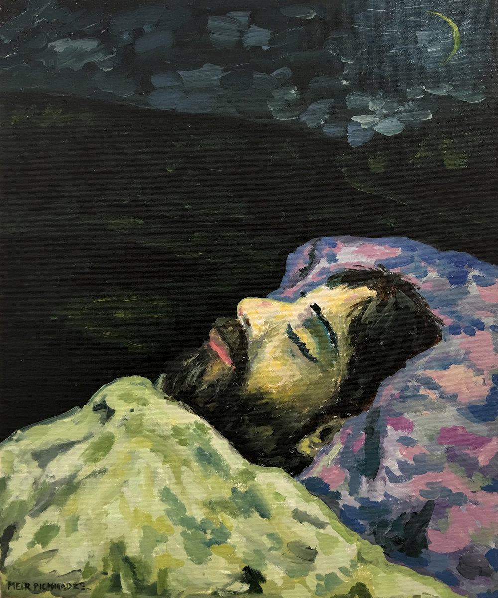 Meir Pichhadze, 1987, Oil on canvas, 50x40 cm.jpg