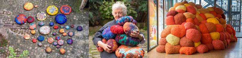 Sheila Hicks at Magasin iii