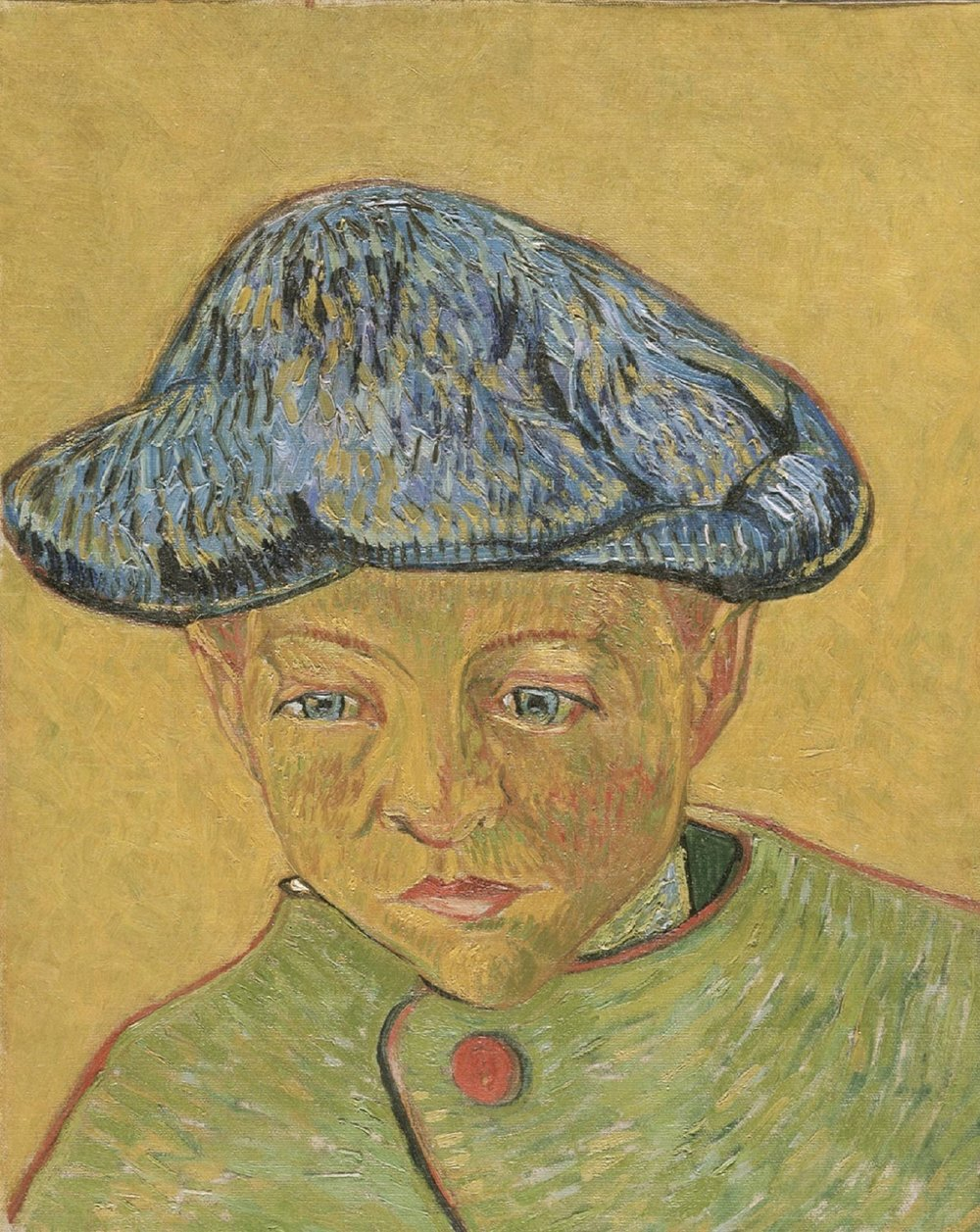 Vincent Willem van Gogh, Portrait of Camille Roulin , 1888  Modern Times  50 Masterpieces from the Philadelphia Museum of Art at the Tel Aviv Museum of Art