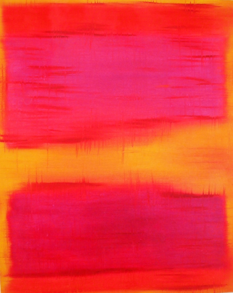 "Homage to Rothko / Oil on Canvas / 24"" x 30"" / 2012"