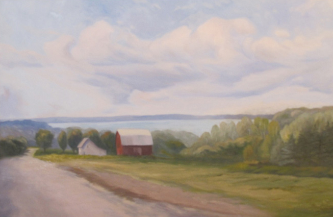 "Road to the Lake | 24""x36"""