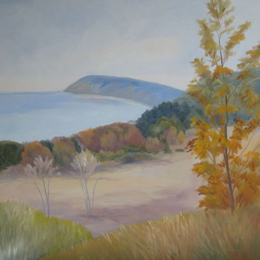 "Fall at Whaleback | 20""x24"""