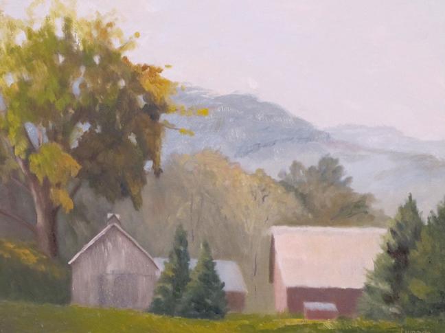 "Laur Farm Point Oneida | 12""x16"""