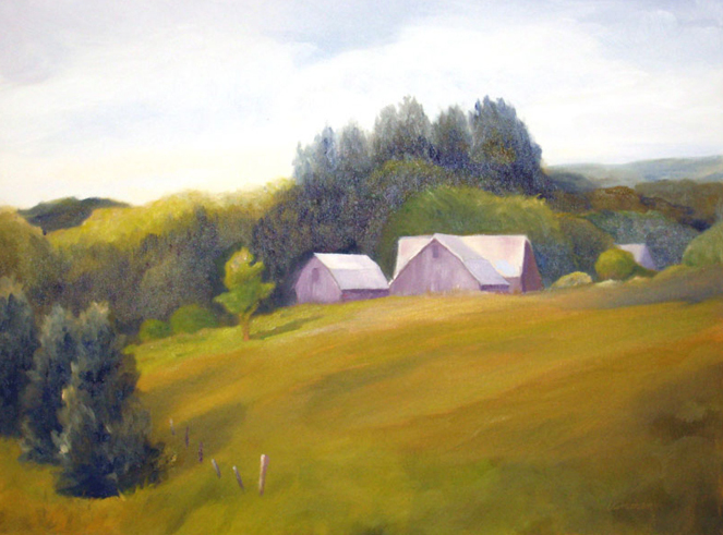 "Hillside Farm | 16""x20"""
