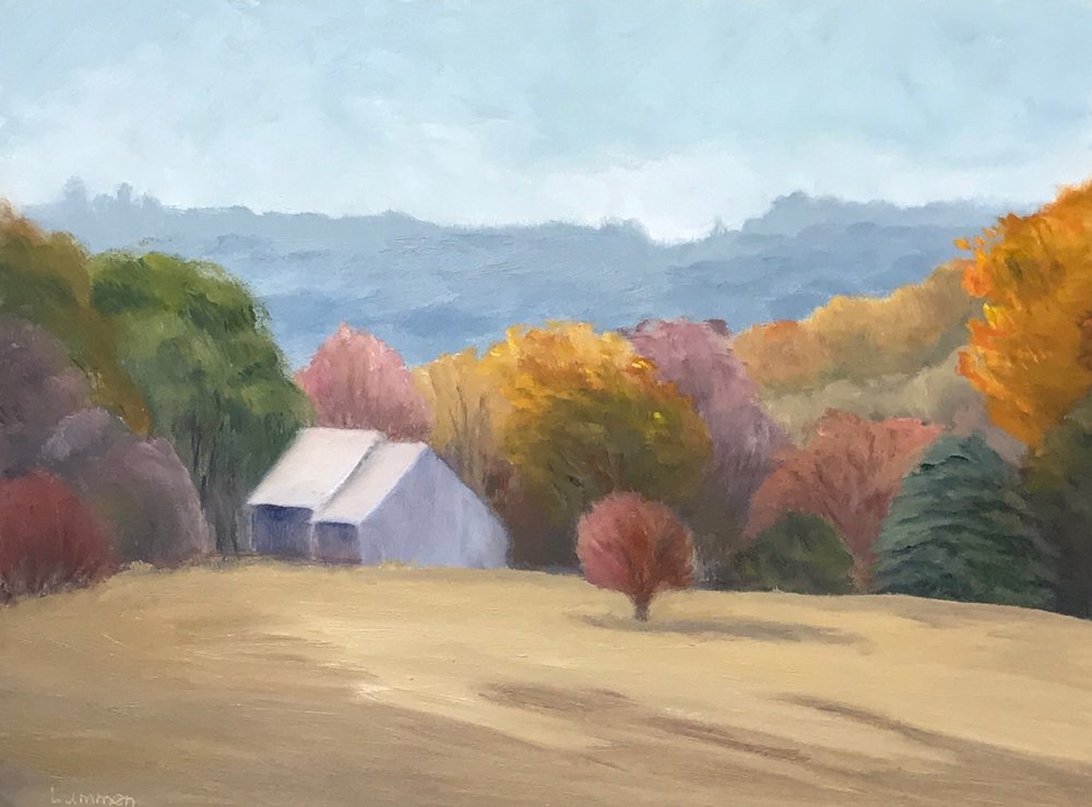 "Two Barns M-22 | 12""x16"""