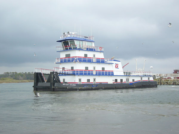 114' Inland Towboat, Golding Barge Lines Inc.