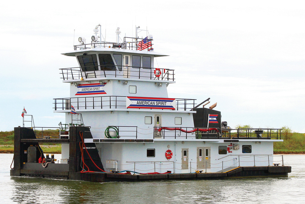 75' Z-Drive Inland Towboat