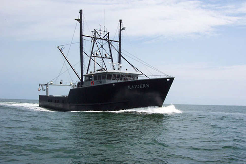 98' Scallop Fishing Vessel