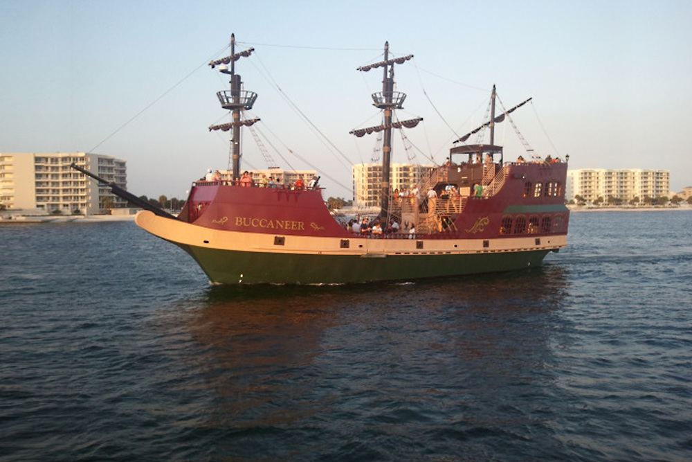 100' Pirate Themed Passenger Vessel